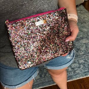 Kate Spade Glitter Clutch